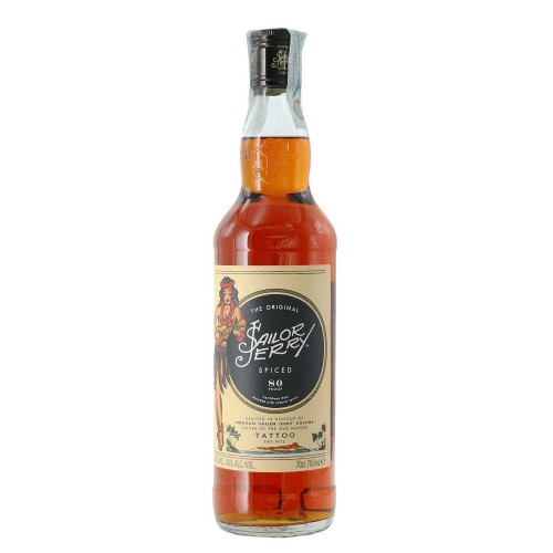 Rum Sailor Jerry 40% 70 cl...