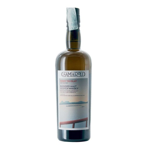 whisky ferry to islay peaty islay 70 cl samaroli - enoteca pirovano