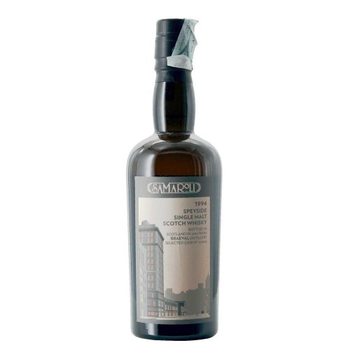 whisky speyside single malt 1994 braeval distillery 50 cl samaroli - enoteca pirovano
