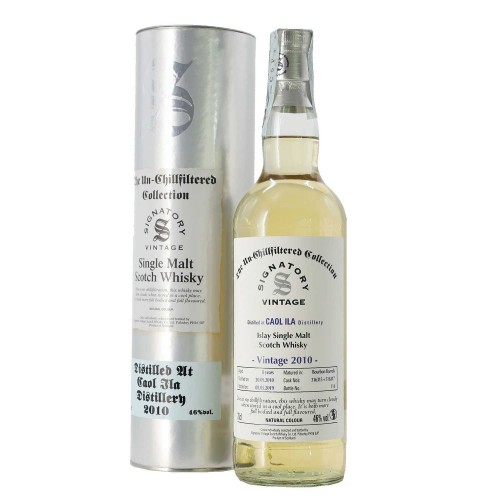 whisky single malt caol ila unchillfiltered collection 2010 70 cl signatory - enoteca pirovano