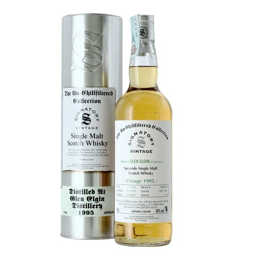 whisky single malt 1995 70 cl glen elgin signatory - enoteca pirovano
