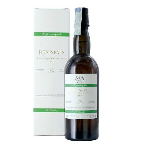whisky single malt ben nevis 1990 26 anni 70 cl signatory - enoteca pirovano