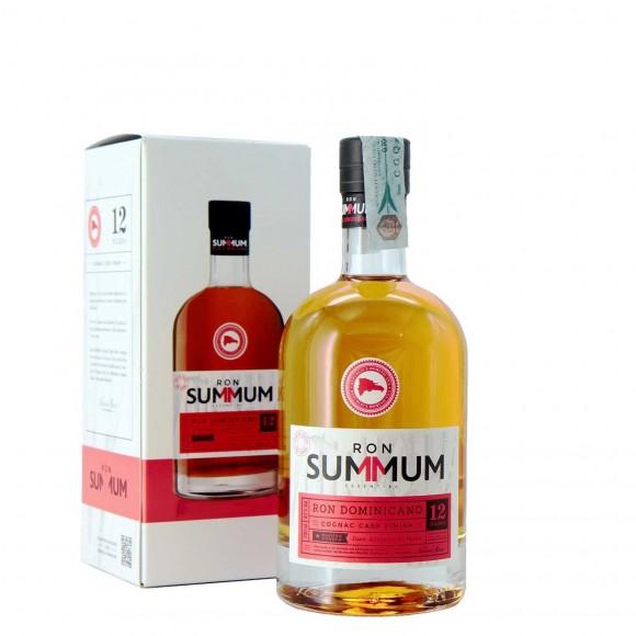 rum summum cognac cask finish 12 anni solera 70 cl - enoteca pirovano