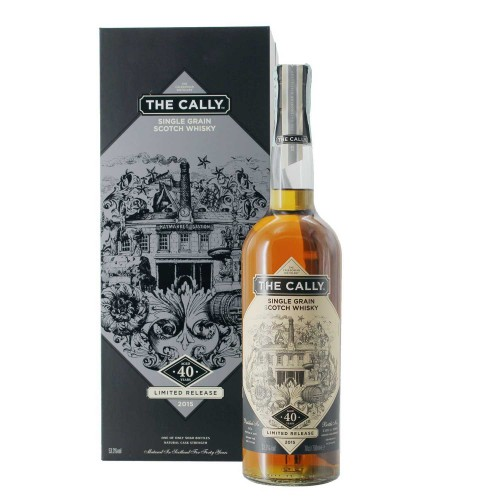 single grain scotch whisky natural cask strength 40 anni 70 cl the cally - enoteca pirovano