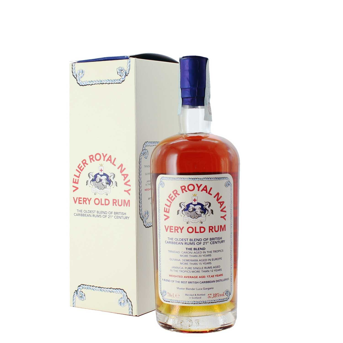 velier royal navy very old rum 70 cl  - enoteca pirovano