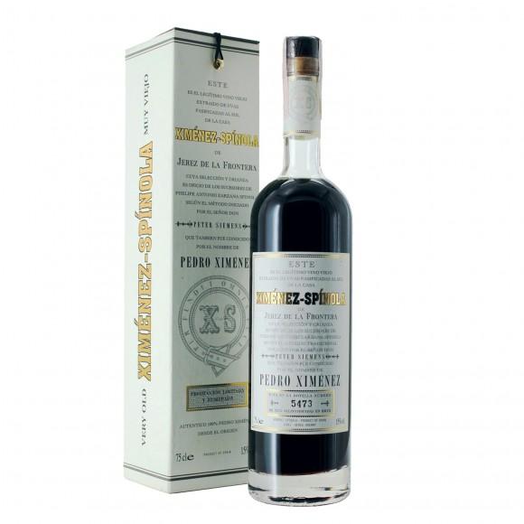 sherry pedro ximenez muy viejo 75 cl ximenez – spinola - enoteca pirovano