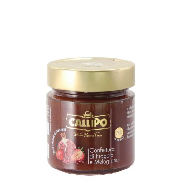 confettra di fragole e melograno 280 gr callipo - enoteca pirovano