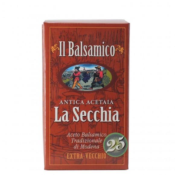 aceto balsamico tradizionale di modena extra vecchio 10 cl antica acetaia la secchia - enoteca pirovano
