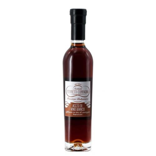 aceto di vino bianco riserva 6 anni 250 ml ferretti corradini - enoteca pirovano