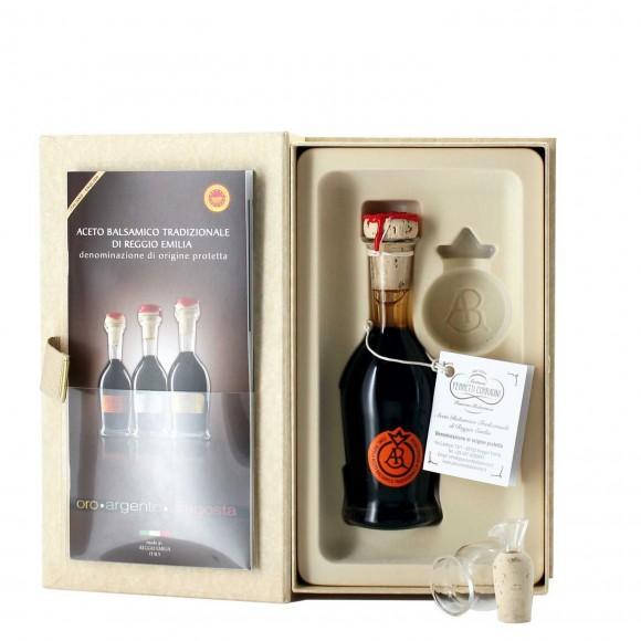 aceto balsamico tradizionale di reggio emilia dop aragosta 100 ml ferretti corradini - enoteca pirovano