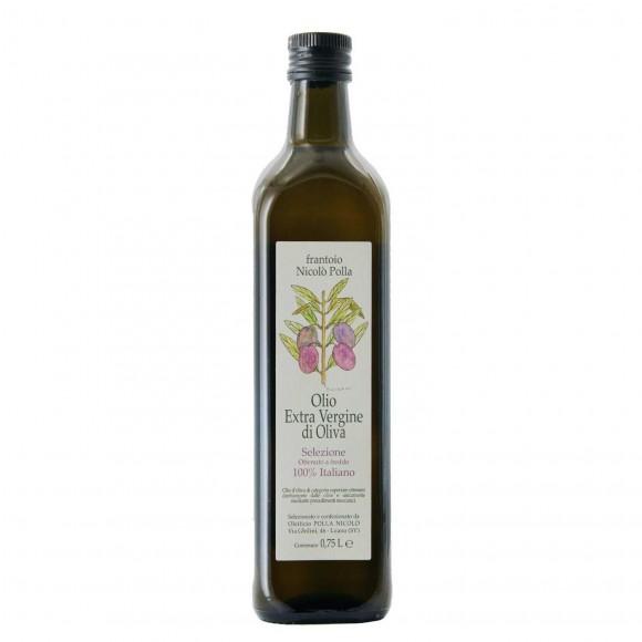 olio extravergine di oliva a freddo 75 cl nicolo' polla - enoteca pirovano