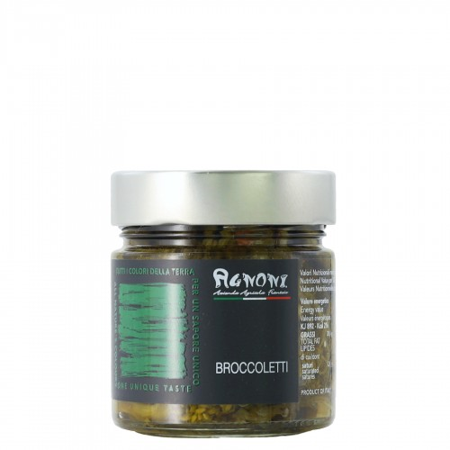 Broccoli in oil 210 gr Agnoni
