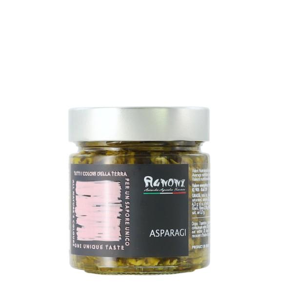asparagi sott'olio 210 gr agnoni - enoteca pirovano