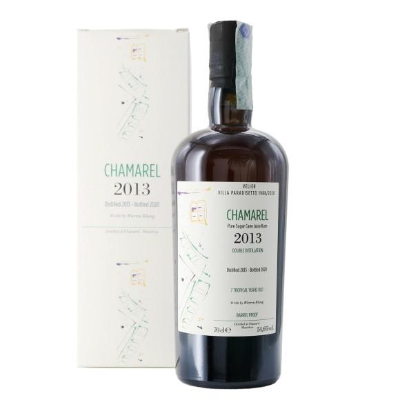 pure single rum chamarel 2013 7 anni 70 cl villa paradisetto velier - enoteca pirovano