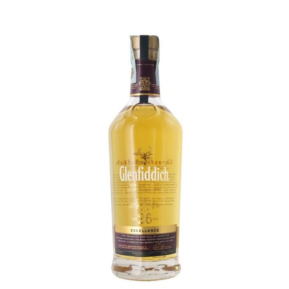 whisky glenfiddich exellence 26 anni 70 cl - enoteca pirovano