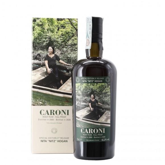 Rum Employees Nita Nitz Hogan 2000 70 cl Caroni - enoteca pirovano