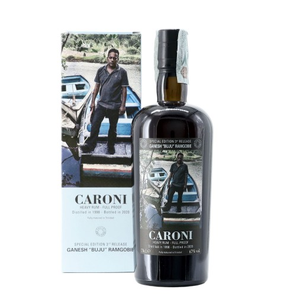 Rum Employees Ganesh Buju Ramgobie 1998 70 cl Caroni - enoteca pirovano