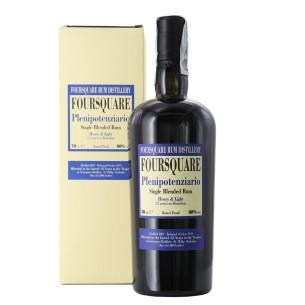rum single blended plenipotenziario 70 cl foursquare - enoteca pirovano