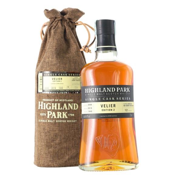single malt scotch whisky velier edition 2 12 year old 70 cl highland park - enoteca pirovano