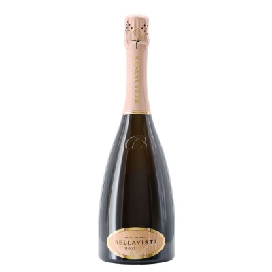 franciacorta  rosè brut 2015 75 cl bellavista - enoteca pirovano