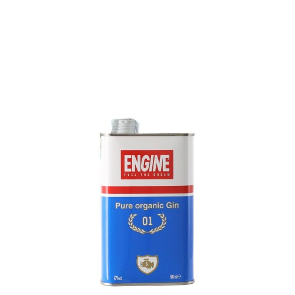 gin pure organic 50 cl engine - enoteca pirovano