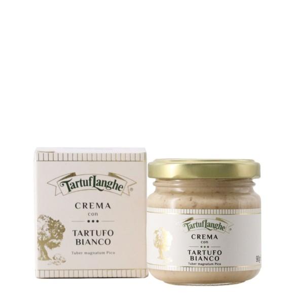 crema con tartufo bianco 7.5% 90 gr tartuflanghe - enoteca pirovano