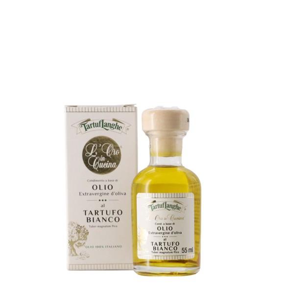 olio extravergine d'oliva con tartufo bianco 55 ml tartuflanghe - enoteca pirovano
