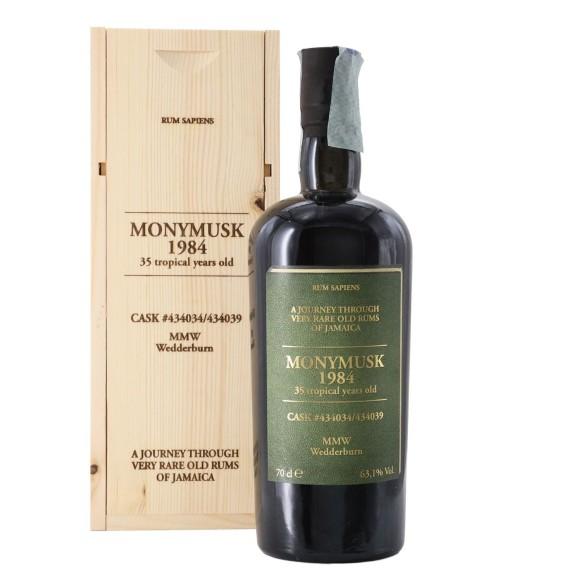 rum 1984 mmw 35 anni 70 cl monymusk - enoteca pirovano