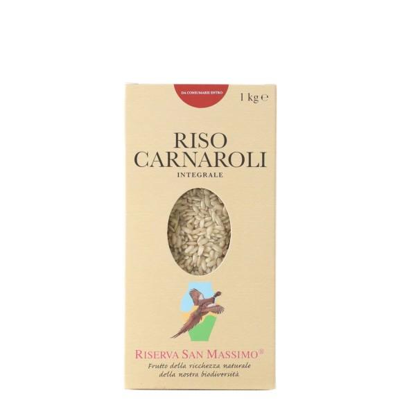 riso carnaroli intergrale 1 kg riserva san massimo - enoteca pirovano