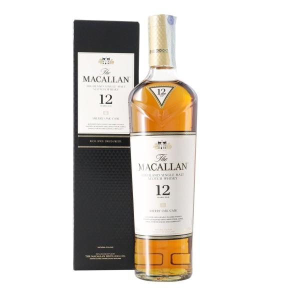 whisky single malt sherry oak cask 12 years old 70 cl macallan - enoteca pirovano