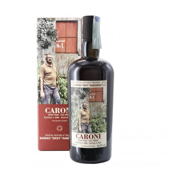 rum employees basdeo dicky ramsarran 2000 70 cl caroni - enoteca pirovano