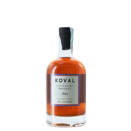 whisky millet single barrel 50 cl koval - enoteca pirovano