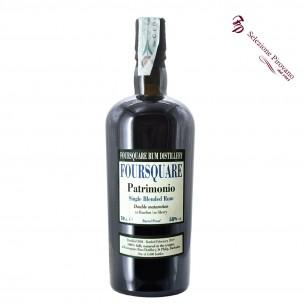 rum single blended patrimonio duble maturation 70 cl foursquare - enoteca pirovano