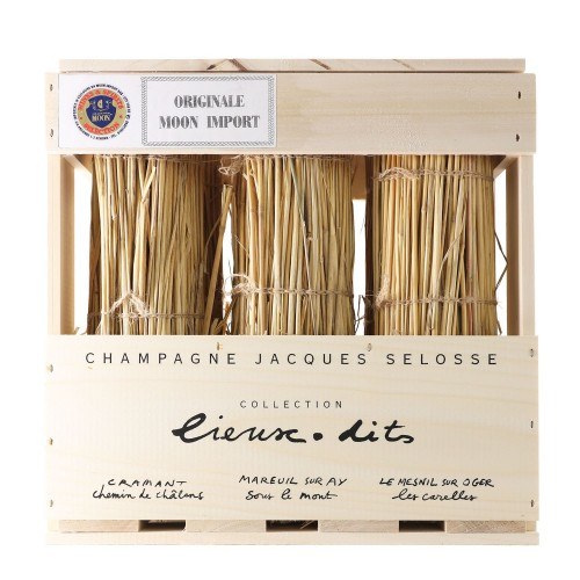 cassa champagne collection lieux-dits jacques selosse - enoteca pirovano