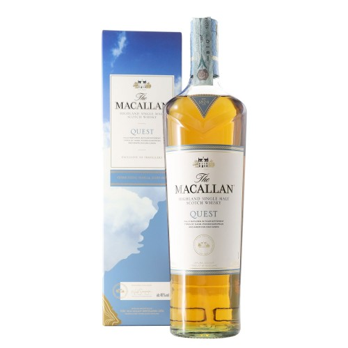scotch whisky single malt quest 70 cl macallan - enoteca pirovano