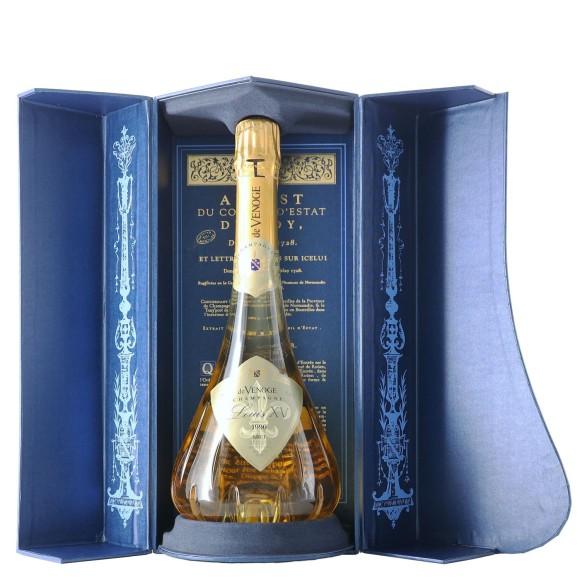 champagne louis xv brut millesimato 1996 75 cl de venoge - enoteca pirovano