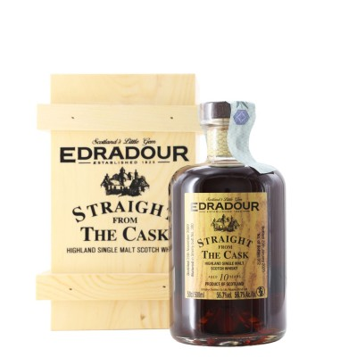 whisky single malt straight from the cask 10 anni 2009 50 cl edradour - enoteca pirovano