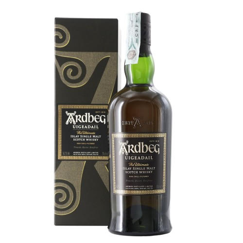 whisky islay single malt uigeadail 70 cl ardbeg - enoteca pirovano