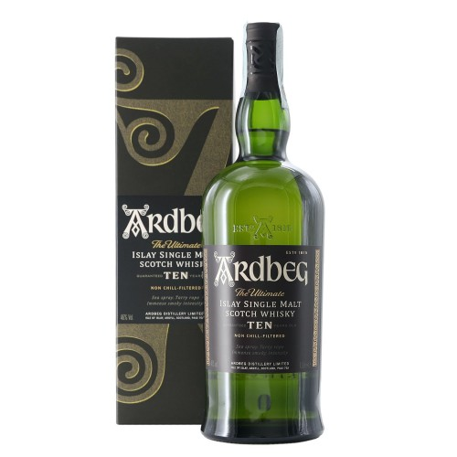 whisky islay single malt 10 anni 1 lt ardbeg - enoteca pirovano