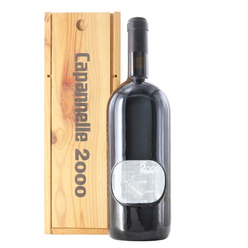 rosso capannelle 2000 1.5 lt capannelle - enoteca pirovano