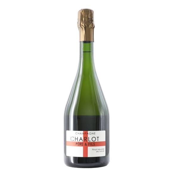 champagne brut nature pinot meunier 2009 75 cl charlot - enoteca pirovano