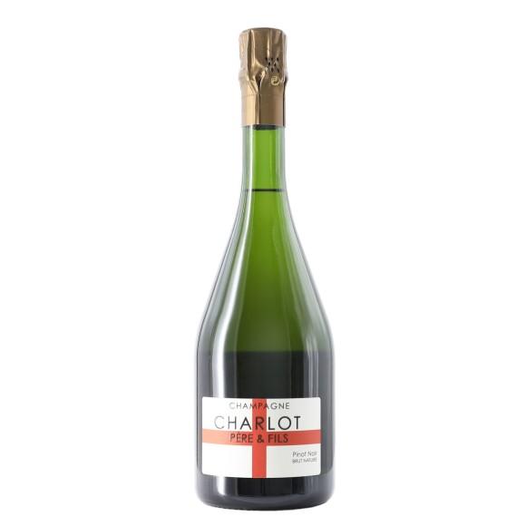 champagne brut nature pinot noir 2010 75 cl charlot - enoteca pirovano