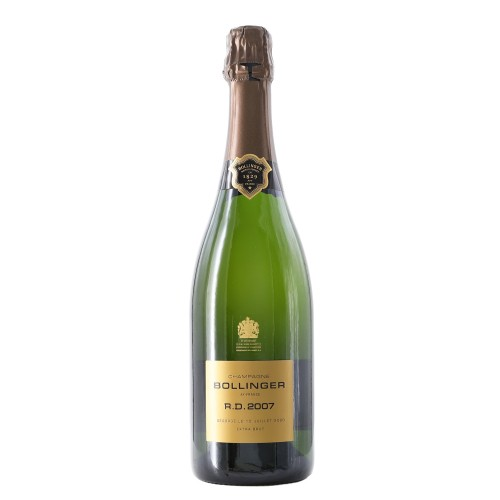 champagne extra brut r.d. 2007 75 cl bollinger - enoteca pirovano