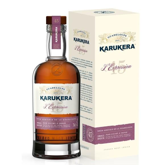 rhum agricole l'expression 45 70 cl karukera - enoteca pirovano