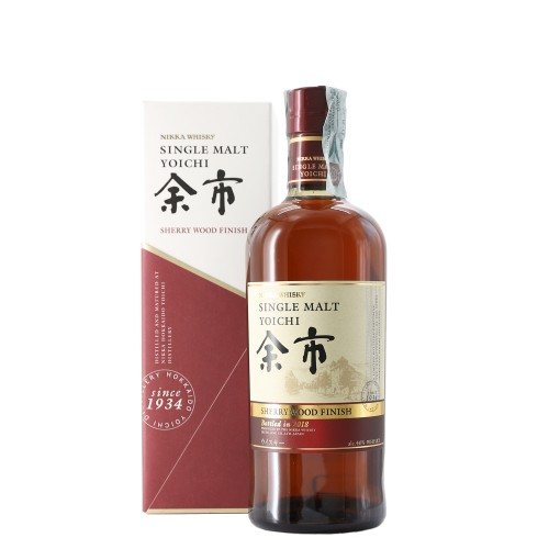 whisky single malt sherry wood finish yoichi 2018 70 cl nikka - enoteca pirovano