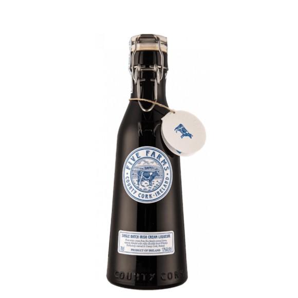 irish whisky cream 70 cl five farm - enoteca pirovano