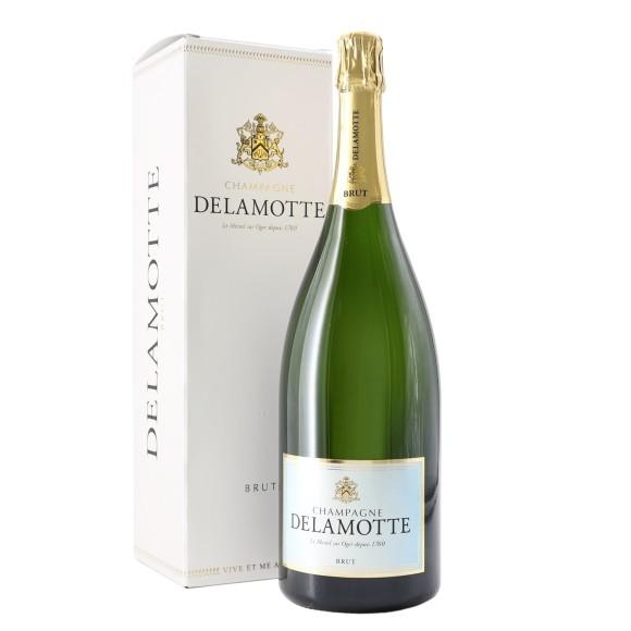 champagne brut 1.5 lt delamotte - enoteca pirovano