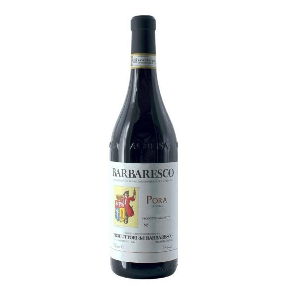 barbaresco docg pora riserva 2016 75 cl produttori del barbaresco - enoteca pirovano