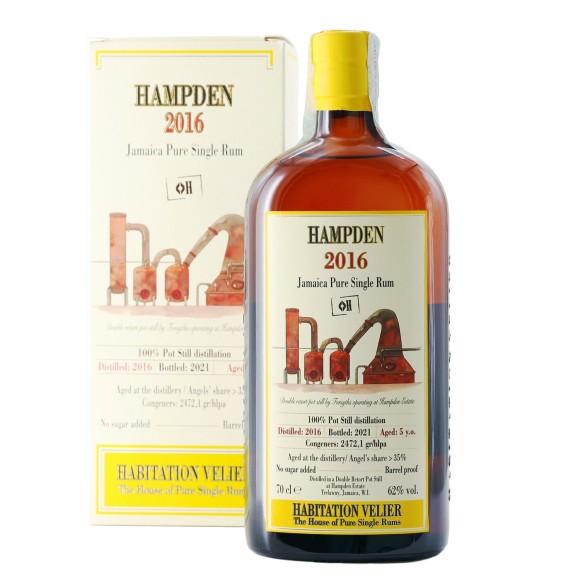 pure single rum hampden diamond h 2016 70 cl habitation velier - enoteca pirovano