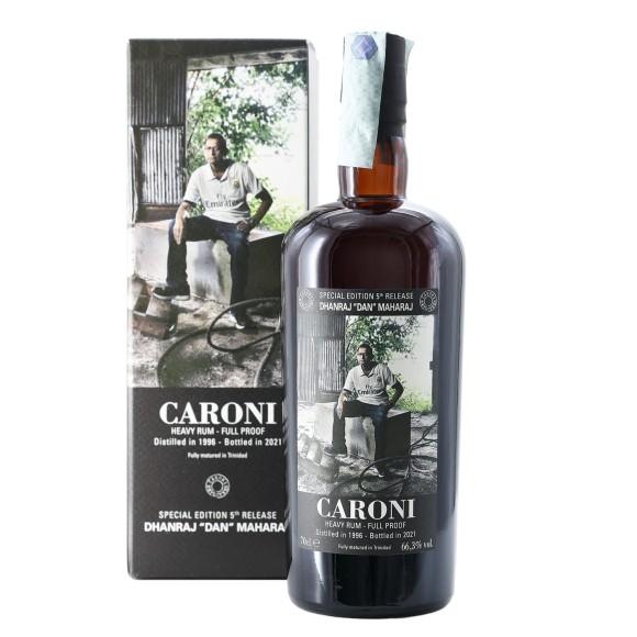 rum employees 5th release dhanraj dan maharaj 1996 70 cl caroni - enoteca pirovano